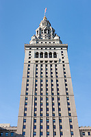 The Terminal Tower, built as part of the Cleveland Union Terminal complex, was the 2nd tallest building in the world when completed in 1930 in Cleveland, Ohio.  The tallest building at that time was the Woolworth Building in New York City, soon to be topped by the Bank of America Trust Building, the Chrysler Building, and the Empire State Building.  The Terminal Tower remained the tallest building outside of New York City until 1964 when it was surpassed by the Prudential Tower in Boston, Massachusetts.