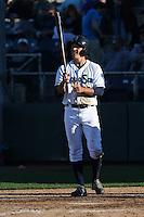 Sheehan Planas-Arteaga #33 of the Everett AquaSox bats against the Boise Hawks at Everett Memorial Stadium on July 25, 2014 in Everett, Washington. Everett defeated Boise, 3-1. (Larry Goren/Four Seam Images)