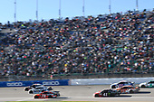 Monster Energy NASCAR Cup Series<br /> Hollywood Casino 400<br /> Kansas Speedway, Kansas City, KS USA<br /> Sunday 22 October 2017<br /> Austin Dillon, Richard Childress Racing, Dow Chevrolet SS, Dale Earnhardt Jr, Hendrick Motorsports, Nationwide Chevrolet SS, Martin Truex Jr, Furniture Row Racing, Bass Pro Shops / Tracker Boats Toyota Camry, Kurt Busch, Stewart-Haas Racing, Haas Automation/Monster Energy Ford Fusion, Ricky Stenhouse Jr, Roush Fenway Racing, Fastenal Ford Fusion, Daniel Suarez, Joe Gibbs Racing, ARRIS Toyota Camry<br /> World Copyright: John K Harrelson<br /> LAT Images