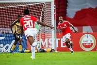 27th April 2021; Estadio Beira Rio, Porto Alegre, Brazil; Copa Libertadores, Internacional versus Deportivo Tachira; Patrick of Internacional celebrates his goal in the 24th minute 2-0