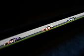 #11: Denny Hamlin, Joe Gibbs Racing, Toyota Camry FedEx Express, #2: Brad Keselowski, Team Penske, Ford Fusion Wurth and #9: Chase Elliott, Hendrick Motorsports, Chevrolet Camaro NAPA Auto Parts