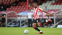 Ethan Pinnock of Brentford in action during Brentford vs Swansea City, Sky Bet EFL Championship Play-Off Semi-Final 2nd Leg Football at Griffin Park on 29th July 2020