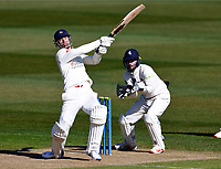 Lancashire's Dane Vilas hits out during Kent CCC vs Lancashire CCC, LV Insurance County Championship Group 3 Cricket at The Spitfire Ground on 22nd April 2021