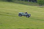 Light green Land Rover Series 1 80 inch at the ALRC National 2008. The Association of Land Rover Clubs (ALRC) National Rallye is the biggest annual motor sport oriented Land Rover event and was hosted 2008 by the Midland Rover Owners Club at Eastnor Castle in Herefordshire, UK, 22 - 27 May 2008. --- No releases available. Automotive trademarks are the property of the trademark holder, authorization may be needed for some uses.