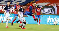 MEDELLÍN - COLOMBIA, 31-07-2021:Independiente Medellín y Atlético Junior en partido por la fecha 3 como parte de la Liga BetPlay DIMAYOR II 2021 jugado en el estadio Atanasio Girardot  de la ciudad de Medellín. / Independiente Medellin and Atletico Junior in match for the date 3 as part of the BetPlay DIMAYOR League II 2021 played at Atanasio Girardot stadium in Medellin city. Photo: VizzorImage / Donaldo Zuluaga / Contribuidor
