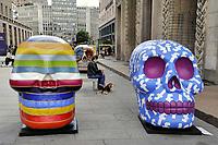 """- Milano, in occasione della Design Week, la mostra """"The skull parade, il tempio delle vanità"""", realizzata dagli artisti del carnevale di Viareggio ed ispirata alla tradizione popolare messicana del Giorno dei Morti.<br /> <br /> - Milan, in occasion of Design Week, the exibition """"The skull parade, the temple of vanities"""", created by the artists of Viareggio carnival and ispired by Mexican folk tradition of the Day of Deads"""