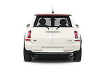 Straight rear view of a 2014 MINI MINI COOPER CLUBVAN 5 Door Wagon 2WD Rear View  stock images