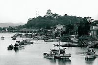 Hafen von Karatsu, Japan