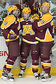 Danny Irmen, Ryan Potulny, Ryan Stoa - The University of Minnesota Golden Gophers defeated the University of North Dakota Fighting Sioux 4-3 on Friday, December 9, 2005, at Ralph Engelstad Arena in Grand Forks, North Dakota.