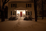 Our Midwestern home after a major blizzard.