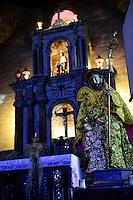 PHILIPPINES, Luzon, Metro Manila, Las Pinas, St. Joseph church with famous bamboo organ / PHILIPPINEN, Luzon, Metro Manila, Las Pinas, St. Joseph Kirche, hier steht die beruehmte Bambus Orgel