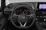 Car pictures of steering wheel view of a 2019 Opel Combo-Life Innovation 5 Door Mini Mpv Steering Wheel