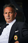Sinisa Mihajlovic head coach of of AC Milan looks on prior to the AC Milan vs FC Internacionale as part of the International Champions Cup 2015 at the looks onnggang Stadium on July 25, 2015 in Shenzhen, China.  Photo by Aitor Alcalde / Power Sport Images