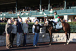 Madame Giry and Eddie Castro win the 16th running of the Buffalo Track Franklin County (Listed) $100,000 at Keeneland Racecourse.  October 12, 2012