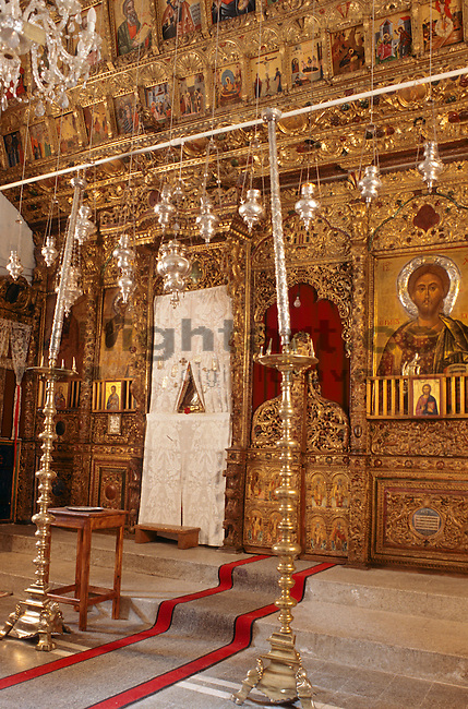 Church of Chrysorroyiatissa Monastery, Western Cyprus, Zypern.