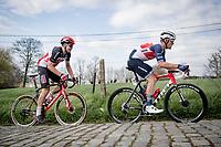 Jasper Stuyven (BEL/Trek-Segafredo) up the Paterberg<br /> <br /> 64th E3 Classic 2021 (1.UWT)<br /> 1 day race from Harelbeke to Harelbeke (BEL/204km)<br /> <br /> ©kramon