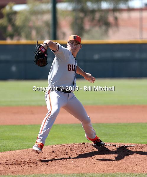 Seth Corry - San Francisco Giants 2019 spring training (Bill Mitchell)