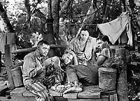(L to R) Peter Lorre,<br /> Helmut Dantine, George<br /> Tobias, Philip Dorn<br /> in<br /> PASSAGE TO MARSEILLE