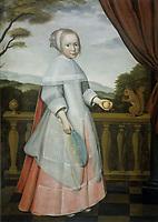 Elisabeth of Austria as a child - by Willem Jansz Ploy, 1663