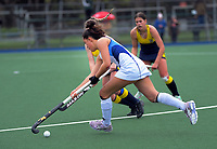 Action from the girls match between Napier Girls' High School and Wairarapa College on day three of the 2020 Lower North Island Hockey Premiership tournament at Fitzherbert Park Twin Turfs in Palmerston North, New Zealand on Wednesday, 2 September 2020. Photo: Dave Lintott / lintottphoto.co.nz