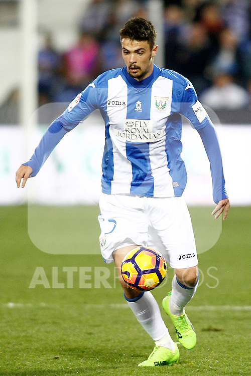 CD Leganes' Luciano Neves during La Liga match. February 25,2017. (ALTERPHOTOS/Acero)