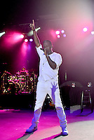 POMPANO BEACH, FL - DECEMBER 02: Shawn Stockman of Boyz II Men performs onstage at Pompano Beach Amphitheatre on December 2, 2016 in Pompano Beach, Florida. Credit: MPI10 / MediaPunch