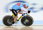 Ross Wilson, Rio 2016 - Para Cycling // Paracyclisme.<br /> Ross Wilson practices before his cycling event // Ross Wilson s'entraîne avant son épreuve cycliste. 04/09/2016.