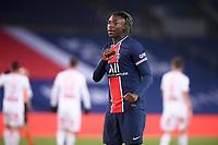9th January 2021, Paris, France; French League 1 football, St. Germain versus Stade Brest;  18 BIOTY MOISE KEAN PSG