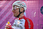 Elia Viviani (ITA) Cofidis at sign on before the start of Stage 12 the Tappa Bartali of the 2021 Giro d'Italia, running 212km from Siena to Bagno di Romagna, Italy. 20th May 2021.  <br /> Picture: LaPresse/Marco Alpozzi | Cyclefile<br /> <br /> All photos usage must carry mandatory copyright credit (© Cyclefile | LaPresse/Marco Alpozzi)