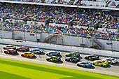Monster Energy NASCAR Cup Series<br /> The Advance Auto Parts Clash<br /> Daytona International Speedway, Daytona Beach, FL USA<br /> Sunday 11 February 2018<br /> Erik Jones, Joe Gibbs Racing, Circle K Toyota Camry and Austin Dillon, Richard Childress Racing, Dow Chevrolet Camaro<br /> World Copyright: Nigel Kinrade<br /> LAT Images
