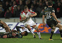 Friday 7th December 2012;  Chris Henry in action for Ulster during the Pool 4 round 3 Heineken Cup clash at Franklin's Gardens, Northampton, England. Image credit -: JOHN DICKSON / DICKSONDIGITAL