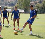 24.06.18 Nikola Katic, James Tavernier and Daniel Candeias
