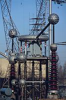- electric distribution power station north Milan....- centrale elettrica di distribuzione Milano nord