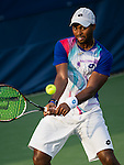 Donald Young (USA) defeated Denis Istoman (UZB) 63 36 63 at the Citi Open in Washington, DC on July 31, 2014.