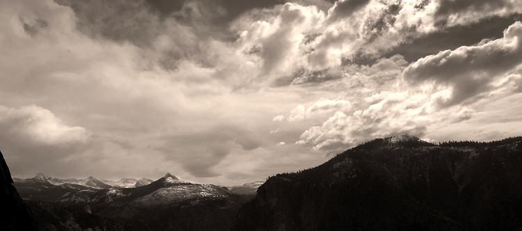 View from Upper Yosemite Falls Trail (Nov. 2013)