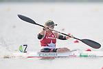 Christine Gauthier, Rio 2016 - Para Canoe // Para canoë. <br /> Christine Gauthier competes in the Women's KL2 Canoe Sprint // Christine Gauthier participe au sprint de canoë KL2 féminin. 14/09/2016.
