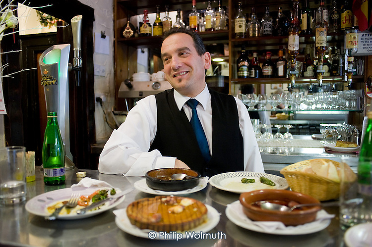 Jesus Lopez, manager of the Don Pepe Spanish Restaurant and Tapas Bar, Frampton Street