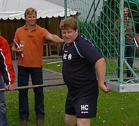 KV Kortrijk eerste training..Hein Vanhaezebrouck..fotos DAVID CATRY/VDB