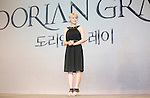 """Hong Seo-Young, Jul 11, 2016 : South Korean musical actress Hong Seo-Young poses during a news conference promoting a new musical """"Dorian Gray"""" in Seoul, South Korea. The musical is based on Oscar Wilde's novel """"The Picture of Dorian Gray"""". (Photo by Lee Jae- Won/AFLO) (SOUTH KOREA)"""
