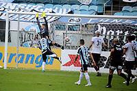 PORTO ALEGRE, RS, 09.05.2021 - GREMIO - CAXIAS - O volante Matheus Henrique, da equipe do Grêmio, comemora o seu gol, na partida entre Grêmio e Caxias, válida pela semi-final do Campeonato Gaúcho 2021, no estádio Arena do Grêmio, em Porto Alegre, neste domingo (9).