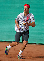 12-08-13, Netherlands, Raalte,  TV Ramele, Tennis, NRTK 2013, National RankingTennis Championships 2013, Justin Eleveld <br /> <br /> Photo: Henk Koster