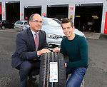 "Bridgestone and Healy's Tyres in Naas team up with jockey Bryan Cooper<br /> <br /> Bridgestone Ireland and Healy's Tyre and Service Centre in Naas have become official tyre suppliers to national hunt jockey and emerging star Bryan Cooper.<br /> Healy's recently fitted Brian's car with Bridgestone S001 Potenza tyres at its First Stop Centre on the Monread Road in Naas. Tom Healy, Proprietor of Healy's said ""We are delighted to be associated with Kildare jockey Bryan Cooper who has already had significant success in his career. We wish Bryan every success for the coming season"".<br /> ends<br /> <br /> For further information contact: Colm Conyngham, Bridgestone Ireland +353 87 2362186<br /> <br /> Pictured Colm Conyngham Consumer Marketing and Public Relations Manager Bridgestone Ireland with  Brian Cooper (C) and the Bridgestone S001 Potenza tyres that were fitted to Brians car to keep him firmly on the road.<br /> Picture www.newsfile.ie"
