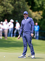 Rory McIlroy (Northern Ireland) during Practice Day at BMW PGA Championship Wentworth Golf at Wentworth Drive, Virginia Water, England on 22 May 2018. Photo by Andy Rowland.