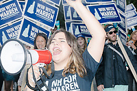 Elizabeth Warren - Supporters at Labor Day Parade - Milford, NH - 2 Sept 2019