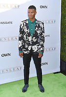 WEST HOLLYWOOD, CA - JUNE 15: Actor Benjamin Patterson arrives at the premiere of OWN's 'Greenleaf' at The Lot on June 15, 2016 in West Hollywood, California.