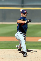 Ryan Edell -  Cleveland Indians - 2009 spring training.Photo by:  Bill Mitchell/Four Seam Images
