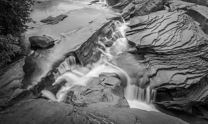 Bonanza Falls located near Silver City in the UP of Michigan