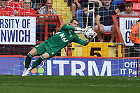 Craig MacGillivray of Charlton Athletic FC makes a save during Charlton Athletic vs Cheltenham Town, Sky Bet EFL League 1 Football at The Valley on 11th September 2021
