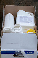 16.11.2020 Waste plastic chemical containers <br /> ©Tim Scrivener Photographer 07850 303986<br />      ....Covering Agriculture In The