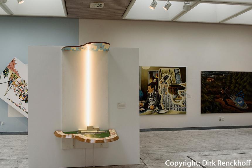 Bornholm Kunstmuseum, Architekten Johan Fogh und Per Følner  auf der Insel Bornholm, Dänemark, Europa<br /> Bornholm Arts-Museum, architechts Johan Fogh and Per Følner, Isle of Bornholm Denmark